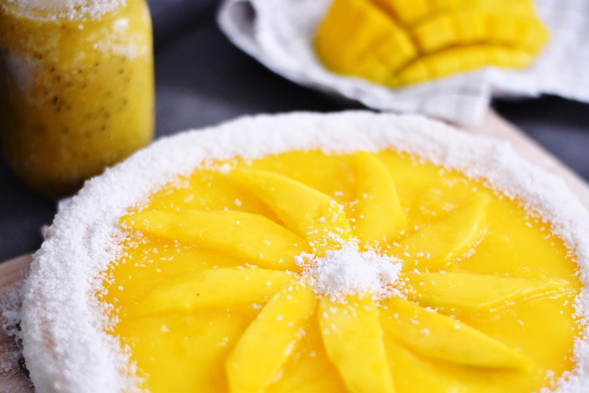 Mango-Maracuja-Cheesecake