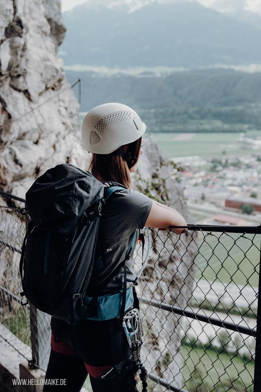 Das erste Mal auf einem Klettersteig