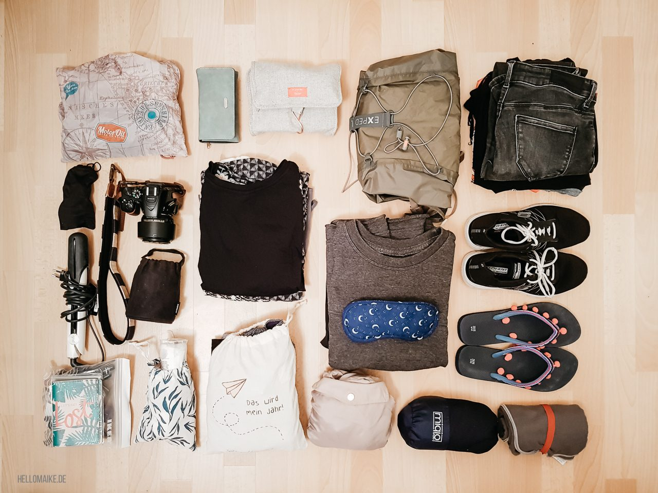 Packliste Backpacking Urlaub in Südostasien